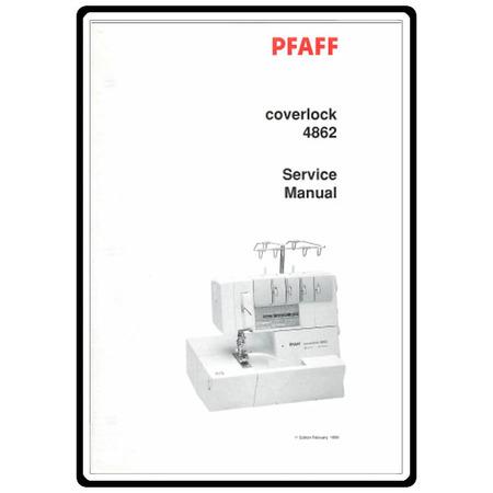 Service Manual, Pfaff 4862