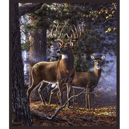 Whistler Studios, Whitetail Majesty Fabric Panel