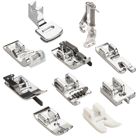 10 Piece Presser Foot Kit, Bernette #5020601417