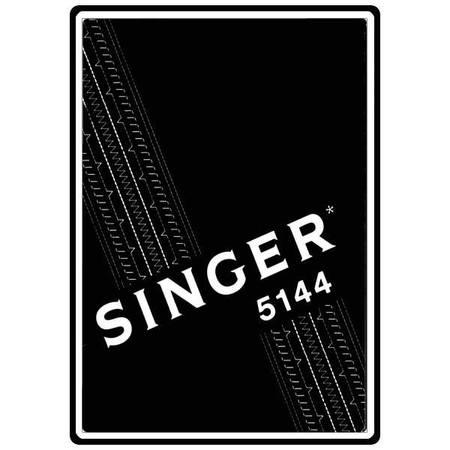 Instruction Manual, Singer 5144