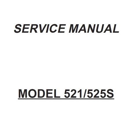 Service Manual, Janome 521