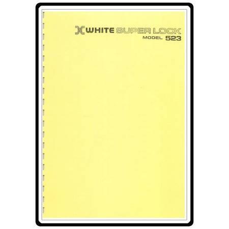 Instruction Manual, White 523