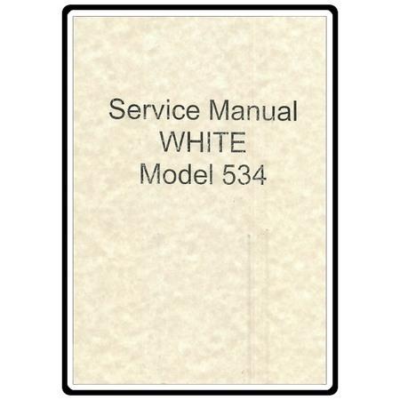 Service Manual, White 534