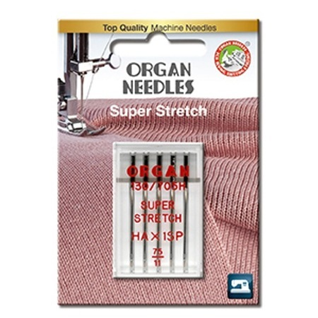 Organ Super Stretch Needles (HAX1SP)