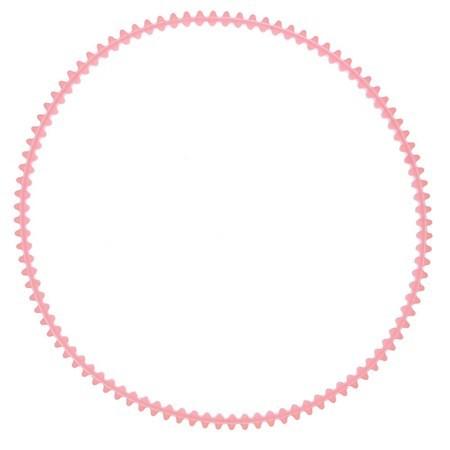 "Belt 15"", White #5872"