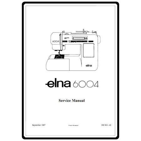 Service Manual, Elna 6004