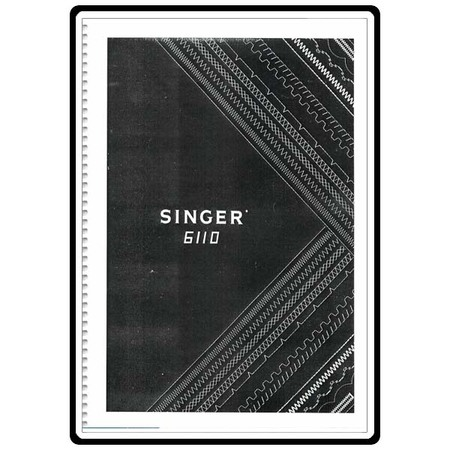 Instruction Manual, Singer 6110