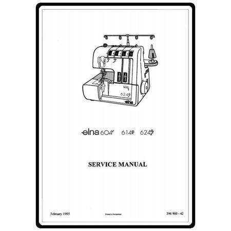 Service Manual, Elna 624DSE