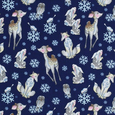 Springs Creative, Woodland Animals Fabric