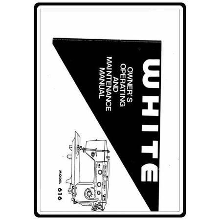 Instruction Manual, White 616