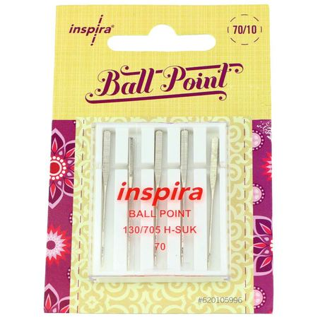 Inspira Ball Point Machine Needles (5pk)