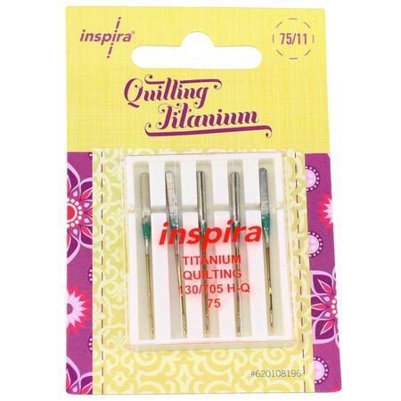 5pk Inspira Quilting Titanium Needles