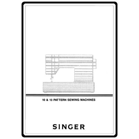 Instruction Manual, Singer 6230