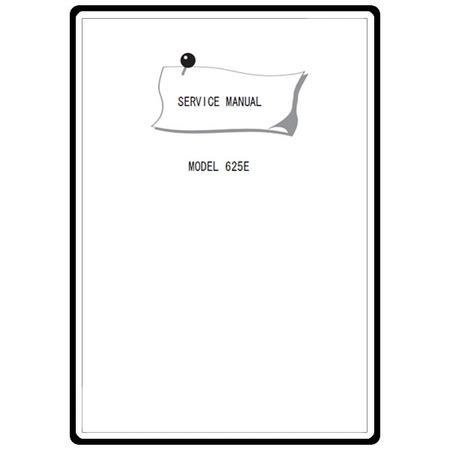 Service Manual, Janome 625E
