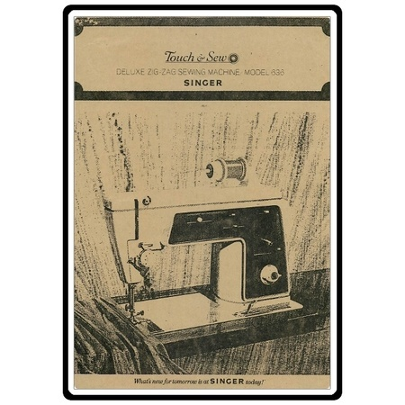 Instruction Manual, Singer 646