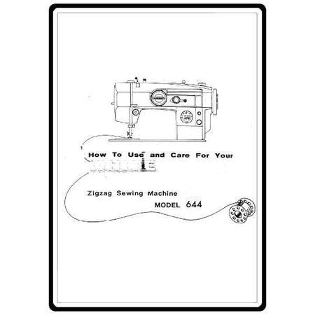 Instruction Manual, White 644
