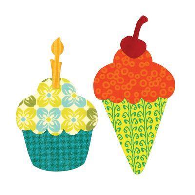 Sizzix Bigz L Die, Cupcake or Ice Cream Cone