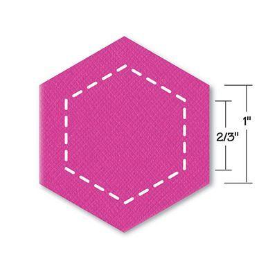 """Sizzix Bigz Die, Hexagons 1"""""""