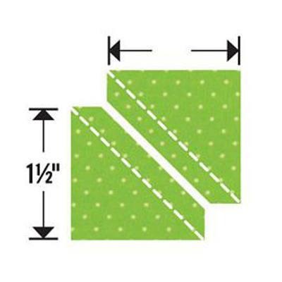 Sizzix Bigz Die, Half-Square Triangles 1-1/2""