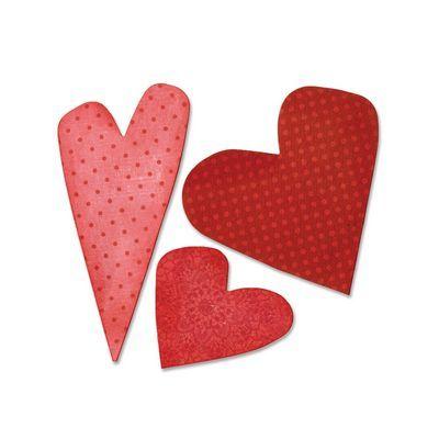 Sizzix Bigz Die, Hearts #4