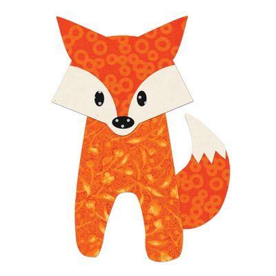 """Sizzix Bigz Die, Fox, 5-1/4"""" x 4-3/4"""""""