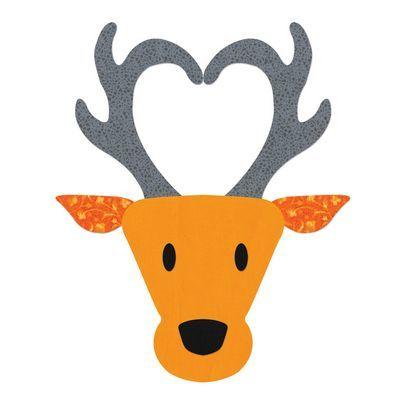 Sizzix Bigz L Die, Reindeer Head
