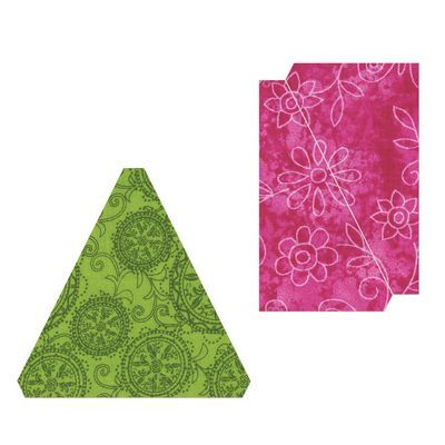 Sizzix Bigz L Die, Triangle, Isosceles & Right 3-1/2""