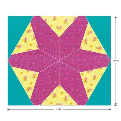 Sizzix Bigz Plus Die, Hex Star