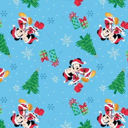 mickey and minnie mouse christmas love fabric sewing parts online