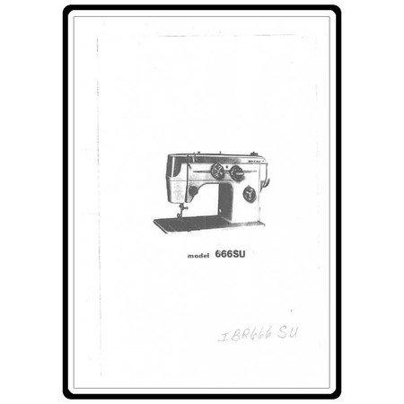 Instruction Manual, Riccar 666su