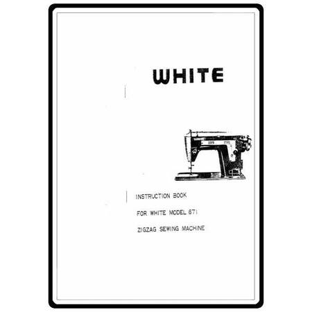 Instruction Manual, White 671