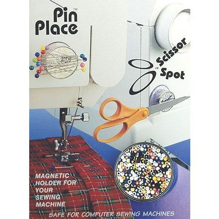 Scissor Spot Magnetic Holder, Blue Feather #6755