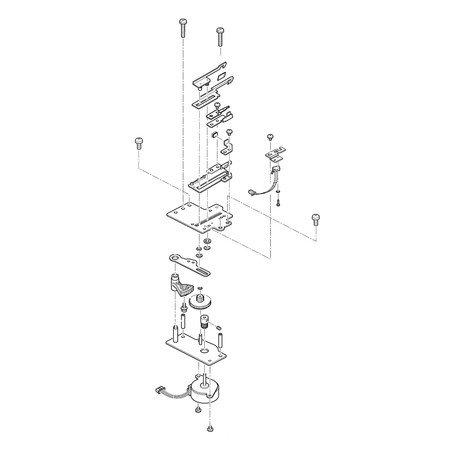 Thread Cutter Assembly, Singer #68001313