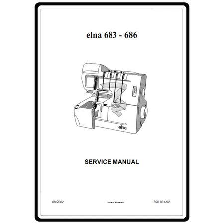 Service Manual, Elna 684