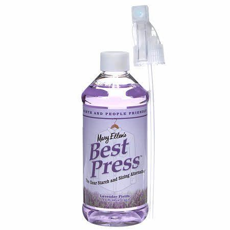 Best Press Spray - Lavender (16 oz), Mary Ellen Products