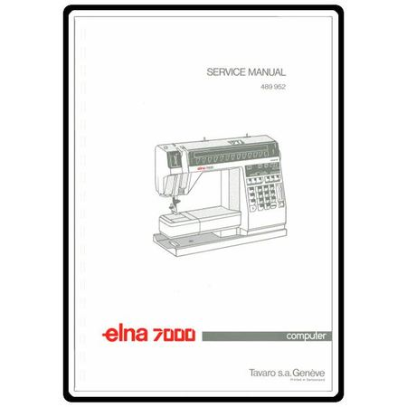 Service Manual Elna 7000 Computer Sewing Parts Online