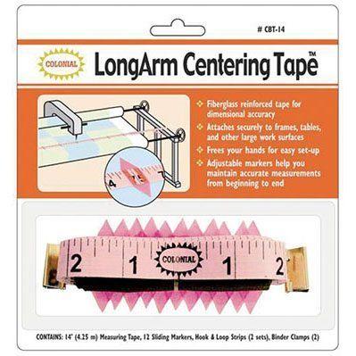 LongArm Centering Tape Measure w/ Markers