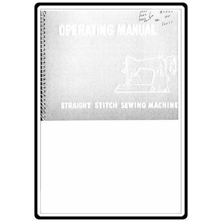 Instruction Manual, White 7012