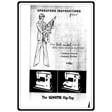 Instruction Manual, White 710