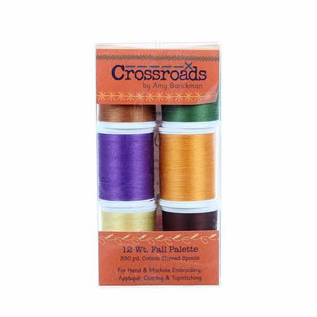 Crossroads Fall Palette Thread Kit, Amy Barickman, Sulky