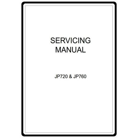 Service Manual, Janome AQS 2009