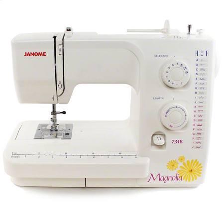 Janome Magnolia 7318 Sewing Machine (18 Stitches)