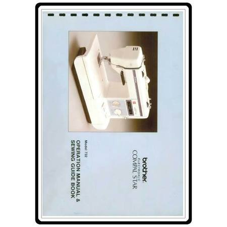 Instruction Manual, Brother Electronic Compal Star 732
