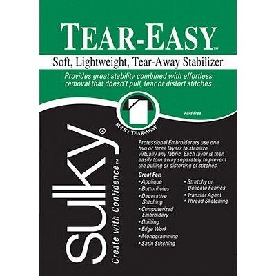 "Sulky Tear-Easy Stabilizer, 20"" x 3yds"