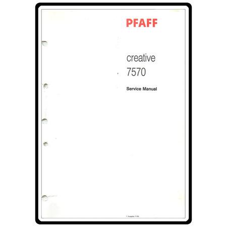 Pfaff 7570 parts list.