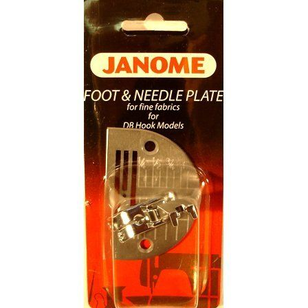 Straight Stitch Foot W/ Needle Plate, Janome #767405018