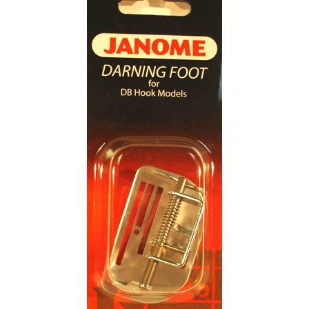 Darning Foot with Plate, Janome #767409012