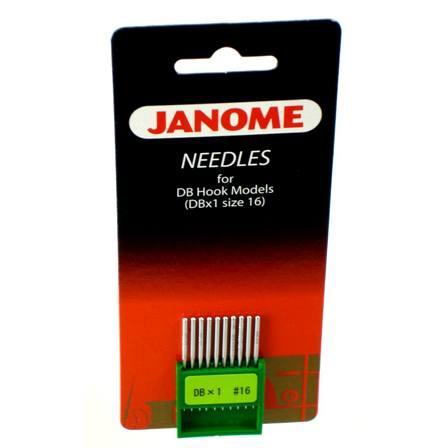 DBx1 Needles Size 16, 10pk, Janome #767810009
