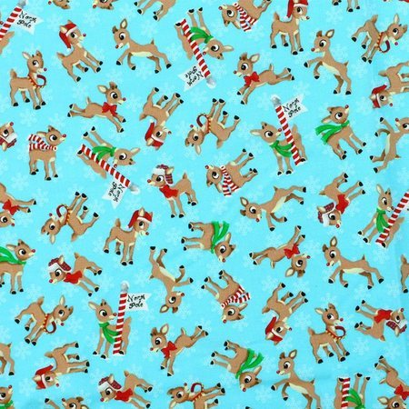 Rudolph the Red Nosed Reindeer Fabric, Cranston