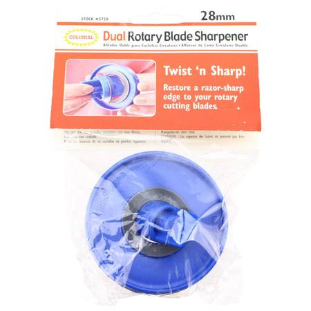 28mm Rotary Blade Sharpener, Colonial Needle